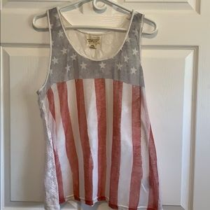 Stars n' Stripes Racer back Tank Top